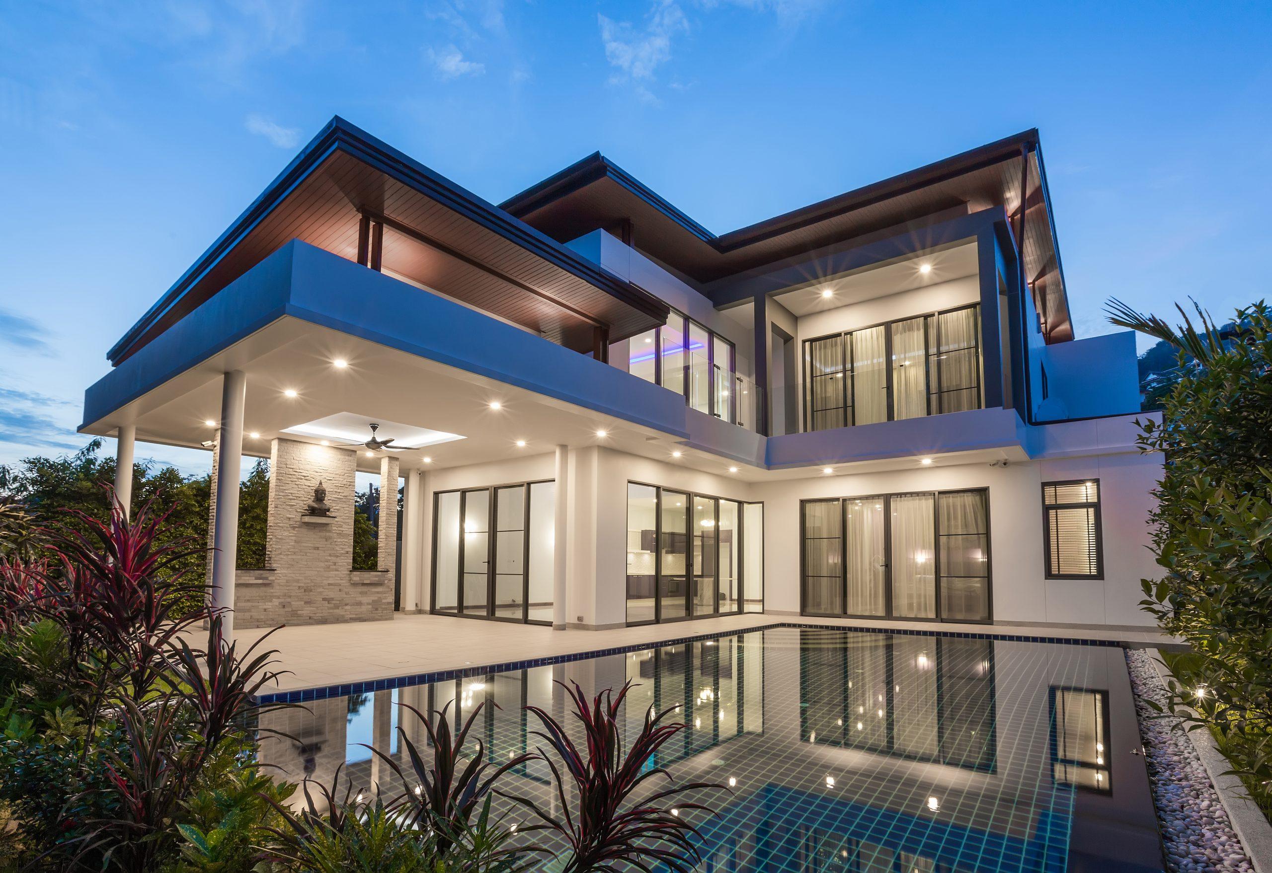 Modern,Luxury,Villa,With,Swimming,Pool